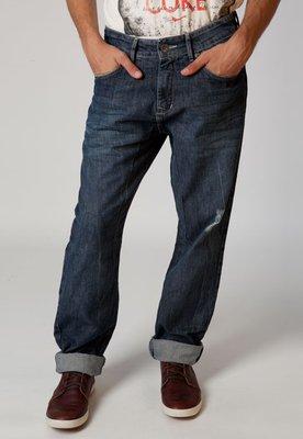 Calça Jeans Carrot  Puído Azul - Coca Cola Clothing