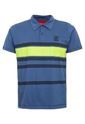Camisa Polo Fatal Surf Street Azul