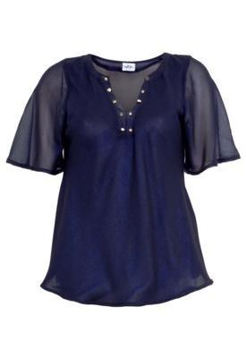 Blusa NightStar Glam Azul