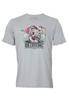 Camiseta Billabong Fashion Manifest Cinza