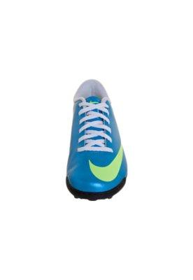 Chuteira Society Nike Mercurial Vortex TF Azul