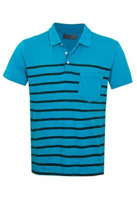Camisa Polo Lemon Grove Change Azul