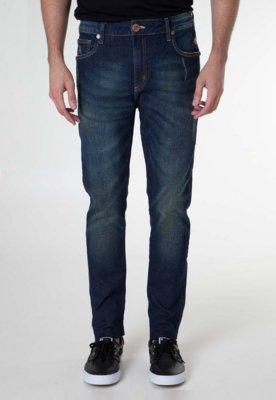 Calça Jeans Skinny Cavalera Vintage Azul
