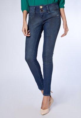 Calça Jeans Lança Perfume Skinny Life Azul