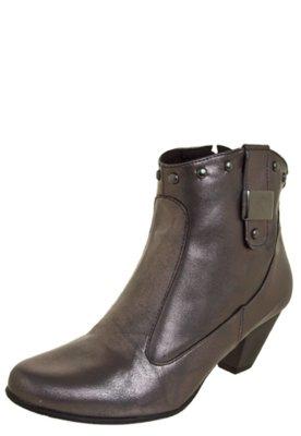 Ankle Boot FiveBlu Glam Cinza