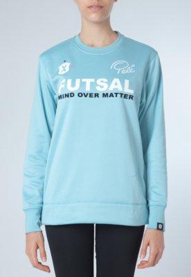 Blusão Pelé SPorts Side Zip Tech Sweat Azul - Pele SPorts