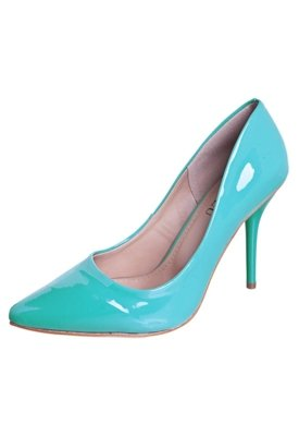Sapato Scarpin FiveBlu Oceano Verde