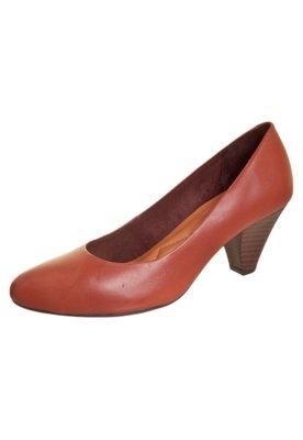 Sapato Scarpin Style Marrom - Anna Flynn Casual