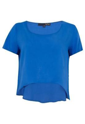 Blusa Pop Touch Night Azul