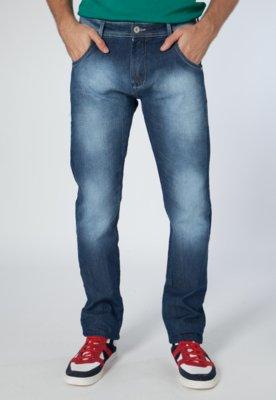 Calça Jeans Coca-Cola Clothing Reta Zac Azul - Coca Cola Cl...