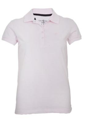 Camisa Polo Calvin Klein Jeans Bordado Rosa