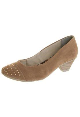 Sapato Scarpin Crysalis Color Cravos Marrom