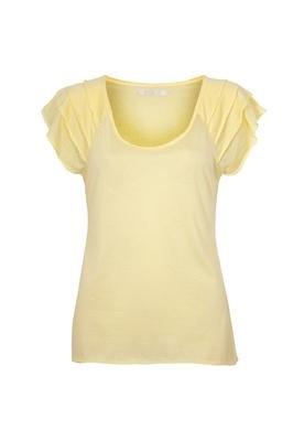 Blusa Camadas Fio Amarela - Eclectic
