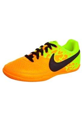 Chuteira Futsal Infantil Nike Jr 5 Elastico Ii Laranja