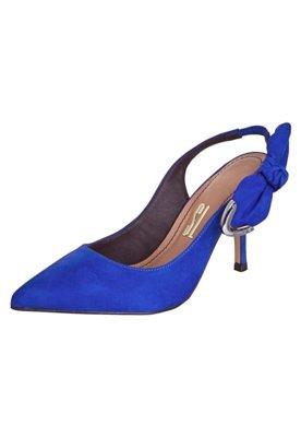 Sapato Scarpin Santa Lolla Laço Azul