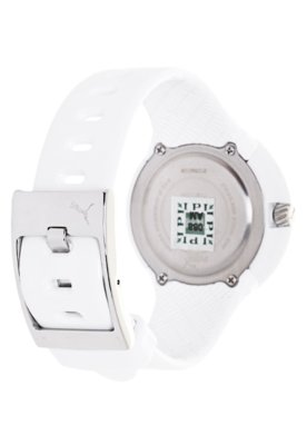 Relógio Puma Slick Ladies Big Cat Branco