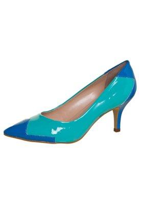 Sapato Scarpin FiveBlu Duo Verde