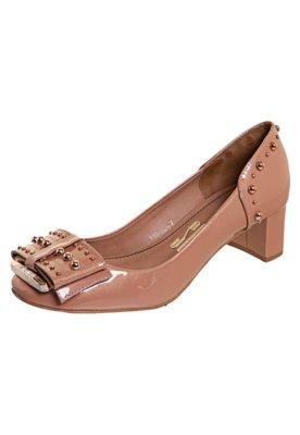 Sapato Scarpin Santa Lolla Saldo Md Laço Bolinhas Rosa