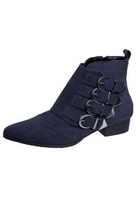Ankle Boot Fivelas Azul - FiveBlu