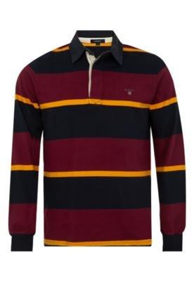 Camisa Polo Gant Club Listrada
