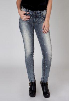 Calça Jeans Colcci Pedras Preta