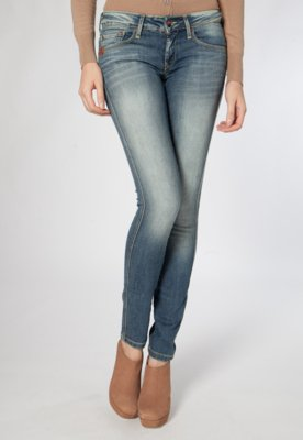 Calça Jeans MNG Barcelona Skinny Uptown7 Azul