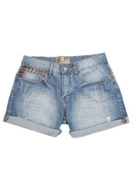 Bermuda Jeans Oh Boy Rock Azul