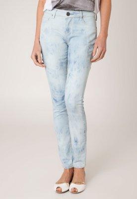Calça Jeans Shoulder Skinny Nuvem Azul