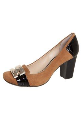 Sapato Scarpin Jorge Bischoff Recortes Caramelo
