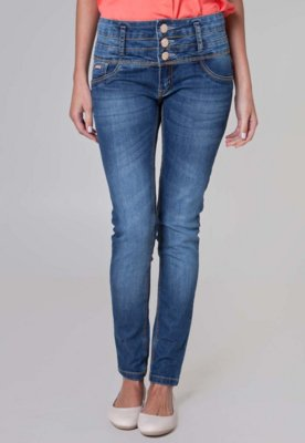 Calça Jeans Lança Perfume Skinny Urban Azul