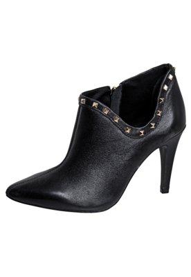 Ankle Boot SPikes Valentino Like Preta - Raphaella Booz