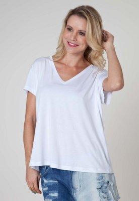 Blusa Sacada Be Simple Branca