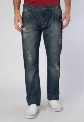 Calça Jeans Coca-Cola Clothing Reta AXL Azul - Coca Cola Cl...