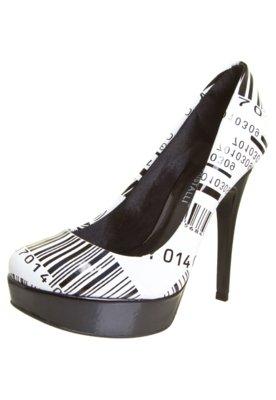 Sapato Scarpin Di Cristalli Lady Branco