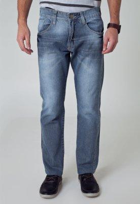 Calça Jeans Fatal Surf Reta Across Azul