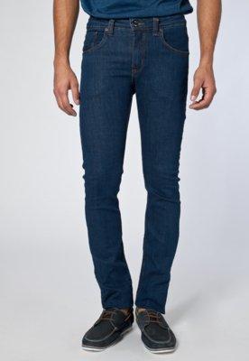 Calça Jeans Colcci Bordado Azul
