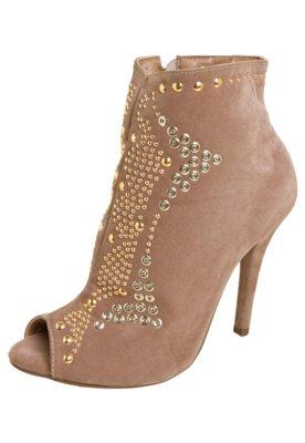 Ankle Boot FiveBlu Tachas Marrom