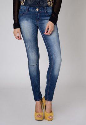 Calça Jeans Colcci Katy Puídos Azul