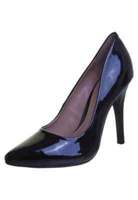 Sapato Scarpin FiveBlu Verniz Preto