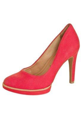 Sapato Scarpin Ramarim Meia Pata Emborrachada Color Rosa