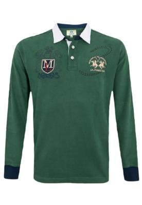 Camisa Polo Rugby Style Verde - La Martina