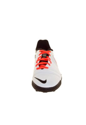 Chuteira Society Nike CTR360 Enganche III TF Branca