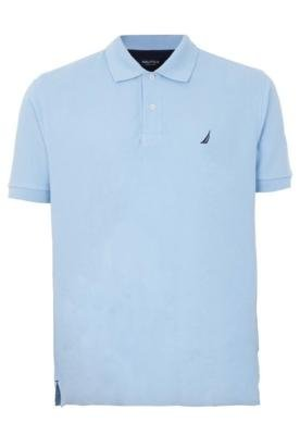 Camisa Polo Nautica Authetic Azul
