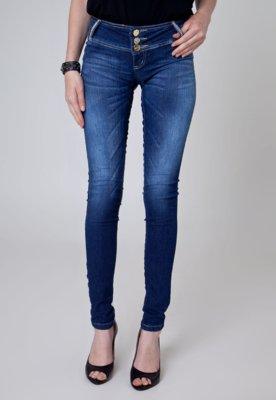 Calça Jeans Sawary Skinny Katy Azul
