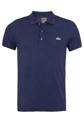 Camisa Polo Lacoste Cool Azul