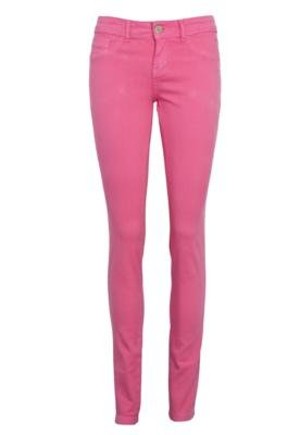 Calça Jeans TNG Skinny Color Rosa