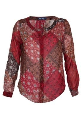 Blusa Rock Lily Kim Vermelha