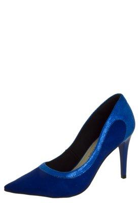 Sapato Scarpin Anna Flynn Lady Azul