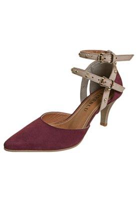 Sapato Scarpin FiveBlu SPikes Vinho