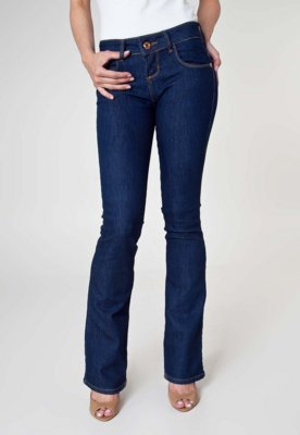 Calça Jeans Coca-Cola Clothing Body Lift Indigo Azul - Coca...